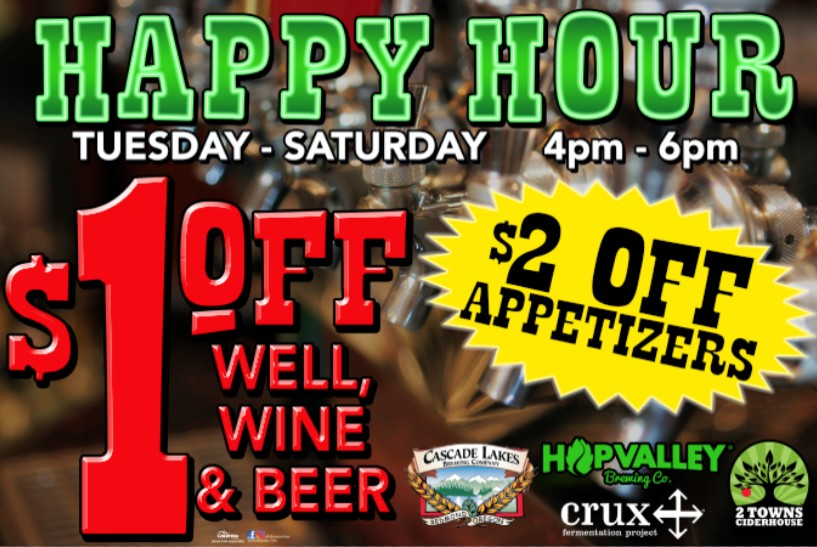 New Happy Hours at Grape Street Bar n Grill
