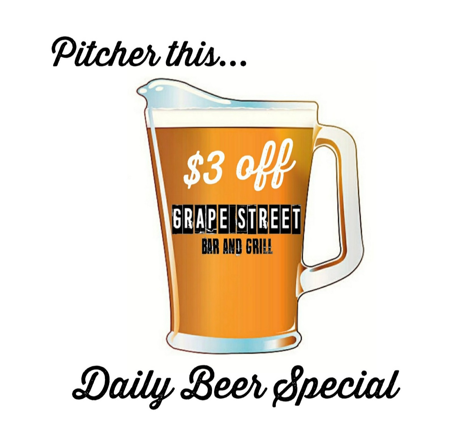 Grape Street Beer Special without address